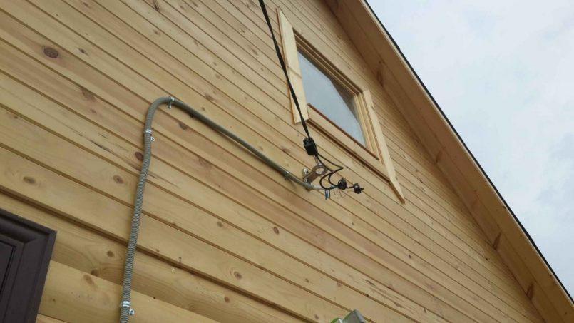 Ввод электричества в дом своими руками фото 526