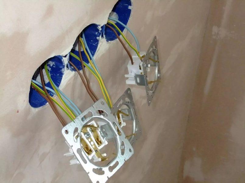 Установка розеток в ванной комнате нормы безопасности  инструктаж