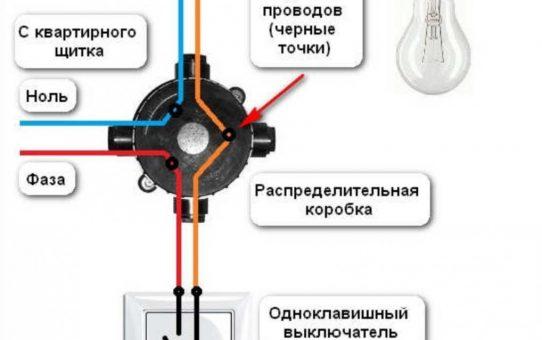 Установка одноклавишного выключателя — пошаговая инструкция и схема подключения. Советы как определить ноль и фазу быстро