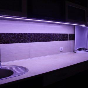 Как сделать подсветку фартука на кухне: освещение рабочей зоны и размещение основных источников света (90 фото)