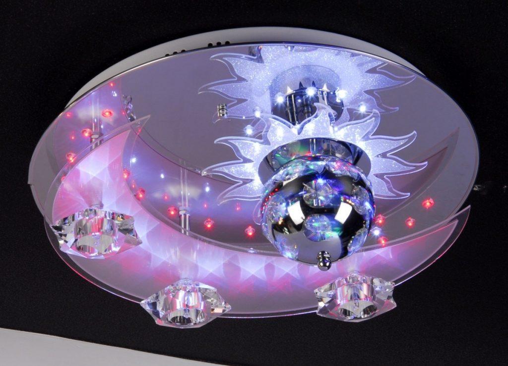 Люстры светодиодные потолочные с пультом картинки