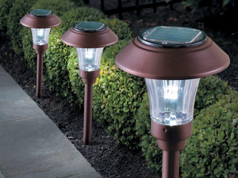 Как работает садовый фонарь на солнечных батареях